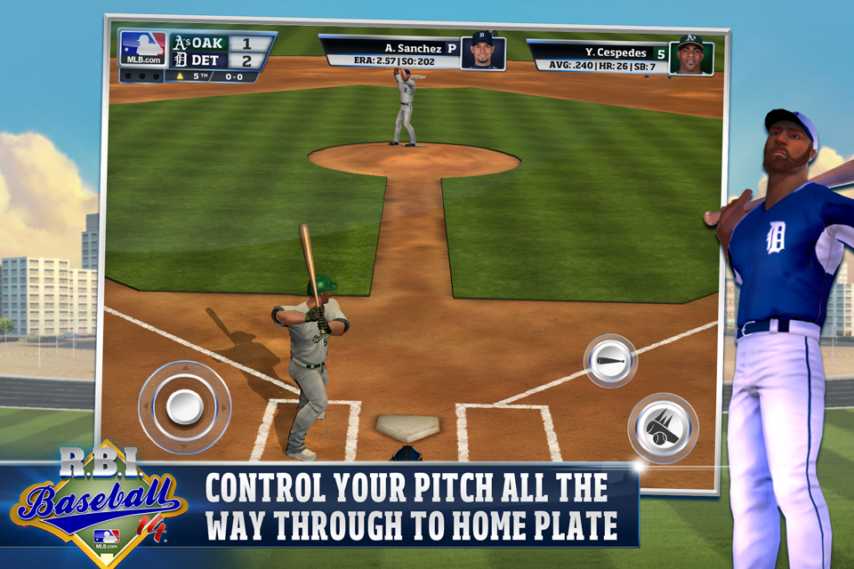 R.B.I. Baseball 14- screenshot