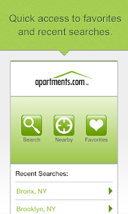 Apartments.com Search Rentals - screenshot thumbnail