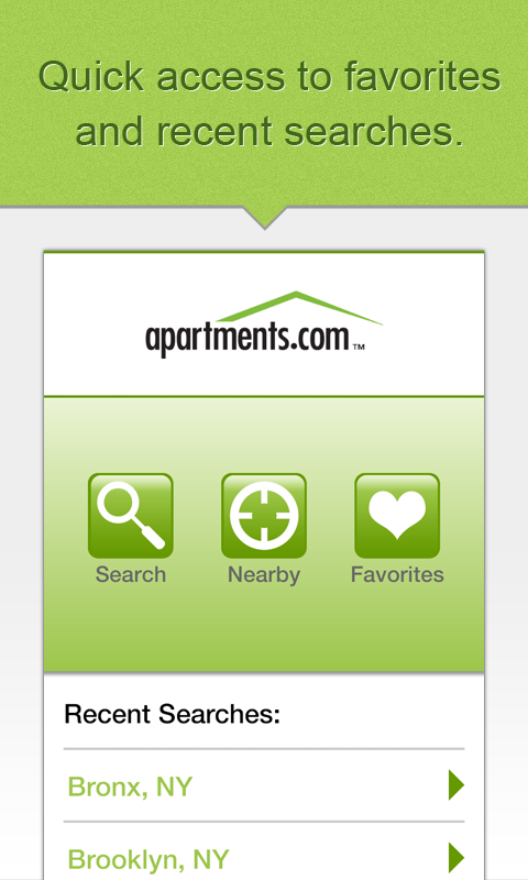 Apartments.com Search Rentals - screenshot