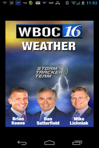 WBOC WX - screenshot