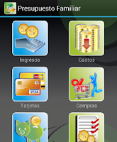 Screenshot of Presupuesto Familiar