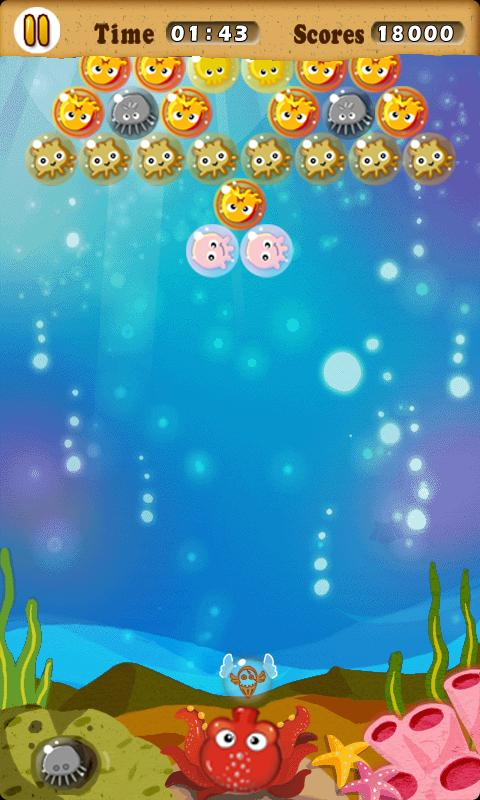 Bubbling Octopus Free - screenshot