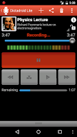 Screenshot of Dictadroid Lite Voice Recorder