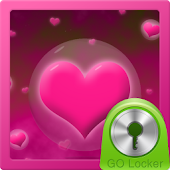 Hearts Theme for GO Locker