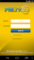 Screenshot of PMLink2U