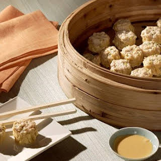 Chicken Siu Mai (Chicken Dumplings).