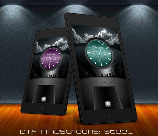 D.T.F Time Screens Steel