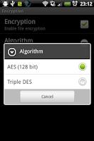 Screenshot of kWS Pro (Android Web Server)