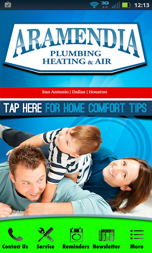 Aramendia Plumbing Heating Air