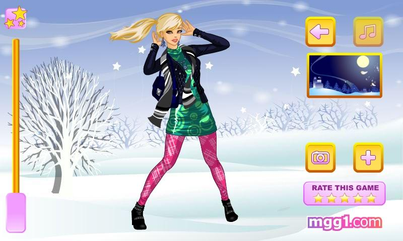 Winter Storm Dress Up - screenshot