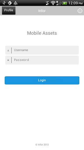 Infor Lawson Mobile Assets
