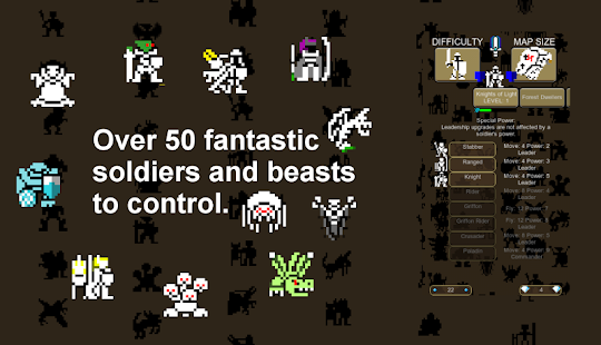 8 bit Warlords of Magic- screenshot thumbnail