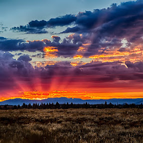 Dawn's Early Rise by John Kincaid - Landscapes Cloud Formations