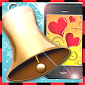 shaking hand bell icon