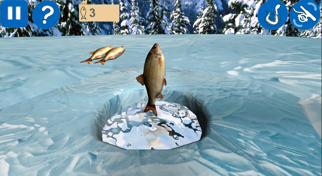 Winter Fishing 3D- screenshot