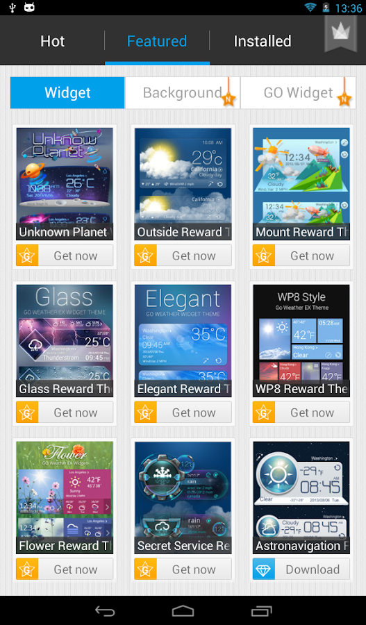 GO Weather Forecast & Widgets - screenshot