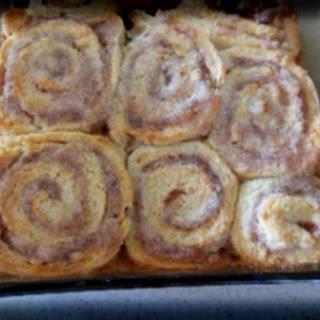 Sweet Cinnamon Roll.