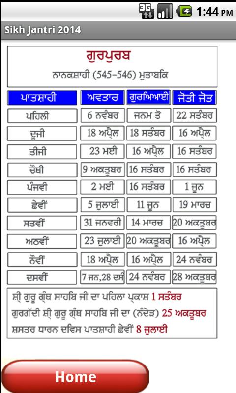 Image Result For Desi Month Calendar