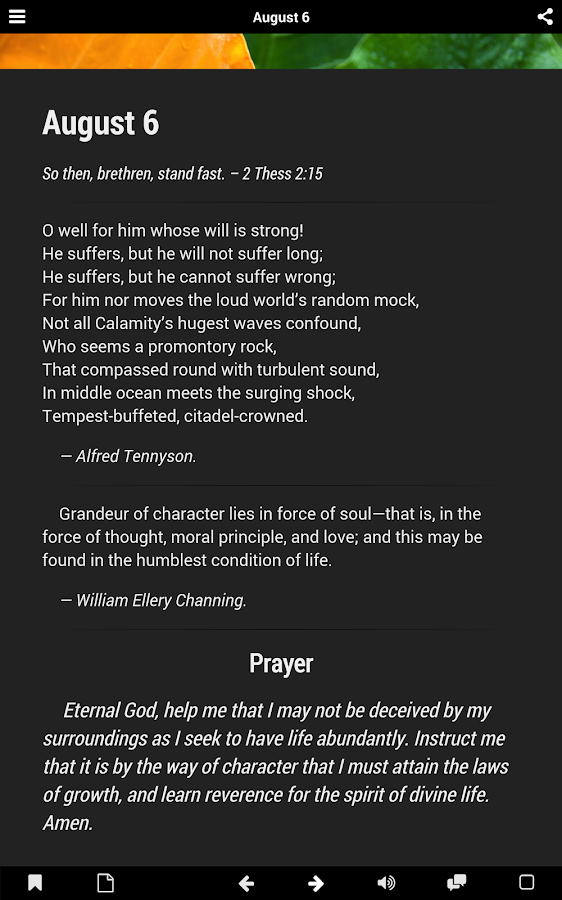 Daily Prayer Guide (Lite)- screenshot