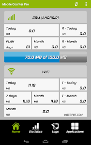 Mobile Counter Pro - 3G, WIFI v3.7