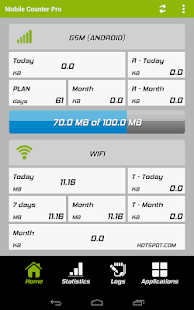 Mobile Counter Pro - 4G, WIFI- screenshot thumbnail