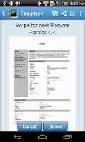 Screenshot of Resume-r