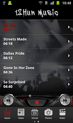 12Hun Music App