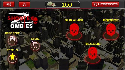 僵尸射击;凶手;触发;Zombies Shooting 3D