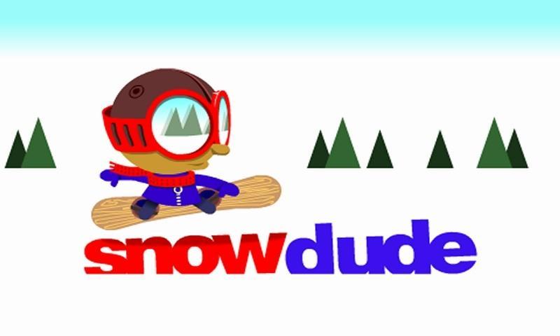 Snow Dude- screenshot