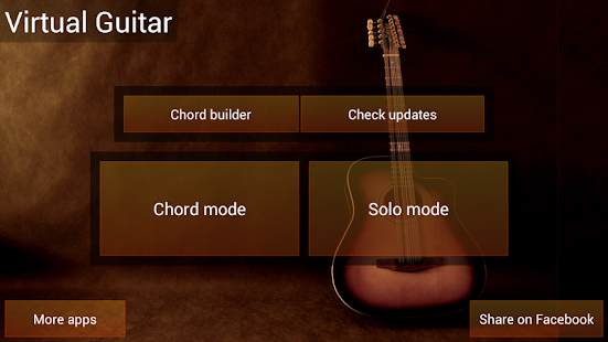 Virtual Guitar - screenshot thumbnail