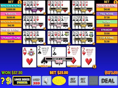 21st Century Video Poker- screenshot thumbnail