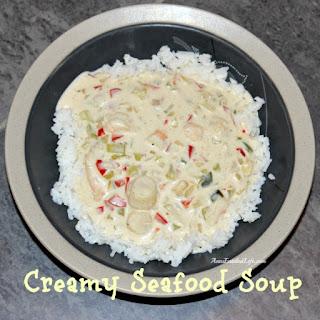 Creamy Seafood Soup.