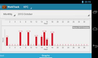 Screenshot of Work Track - Salary Calculator