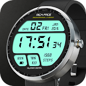 Military Digital Watch Face