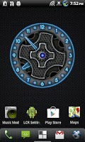 Screenshot of 10 Blue Neon Clocks