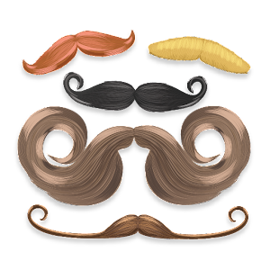 Aviary Stickers: Mustaches