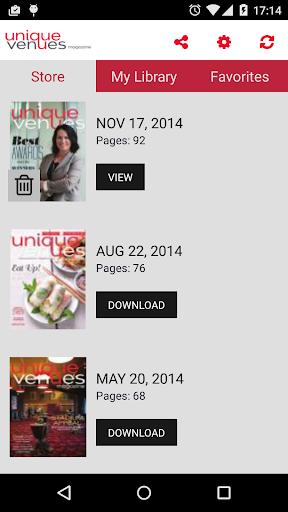 【免費娛樂App】Unique Venues Magazine-APP點子