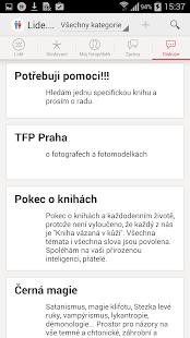 Lide.cz - screenshot thumbnail