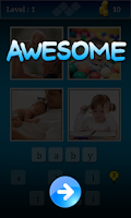 Screenshot of 4 pics 1 word - New Game