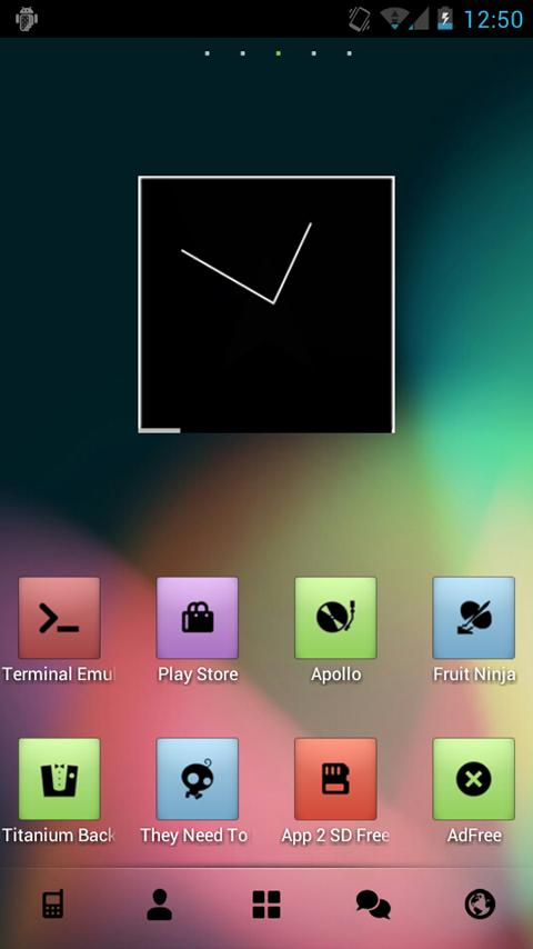 Placid Theme Go/Nova/Apex - screenshot