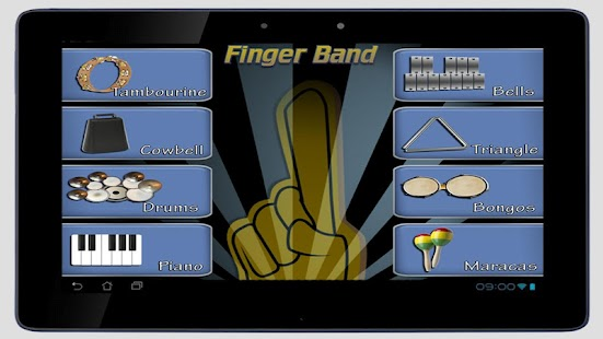 Finger Band Lite HD for Tablet- screenshot thumbnail