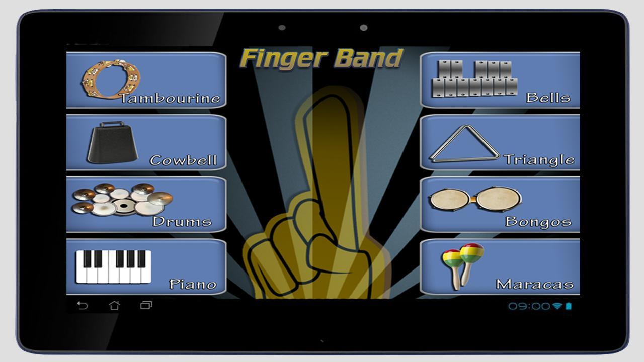 Finger Band Lite HD for Tablet - screenshot