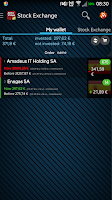 Screenshot of Stock Exchange