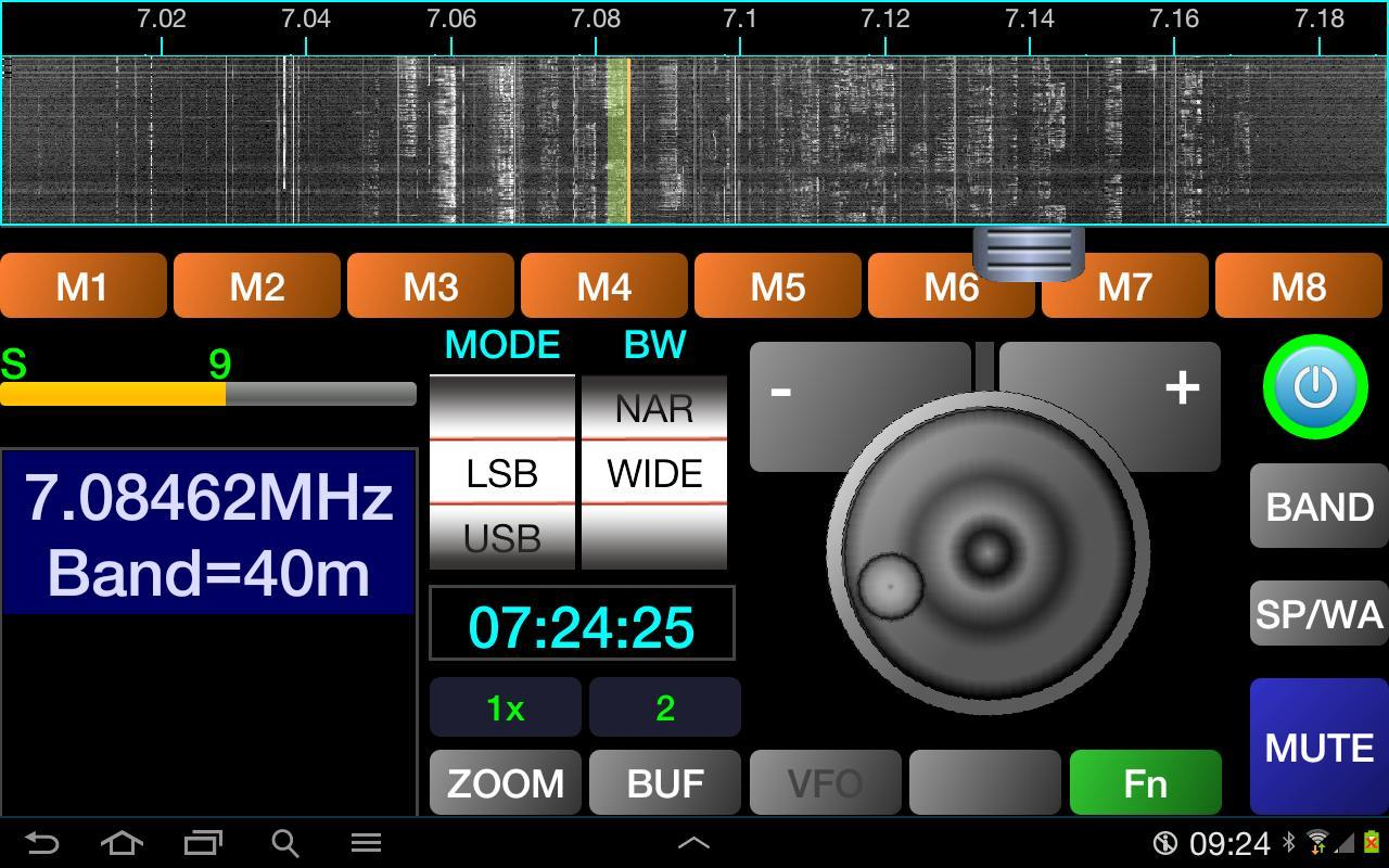 Pocket  HAM bands Transceiver - screenshot