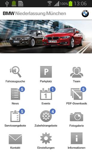 BMW Niederlassungen