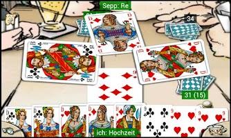 Screenshot of Doppelkopf am Stammtisch