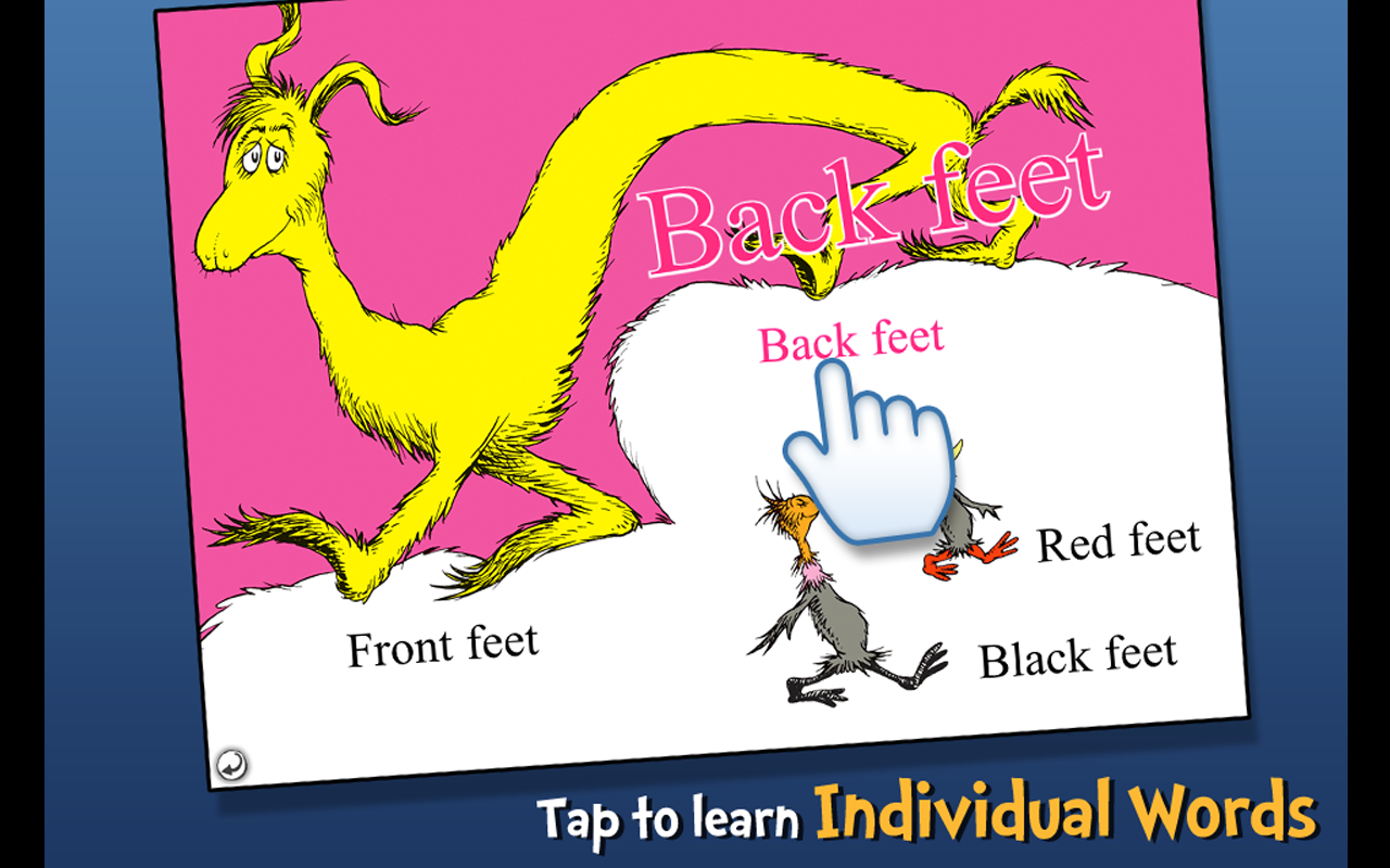 The FOOT Book - Dr. Seuss- screenshot
