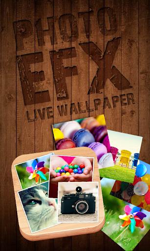 Photo EFX Live Wallpaper