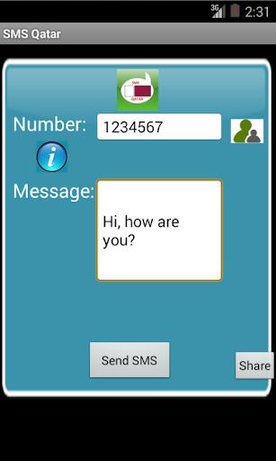 Free SMS Qatar