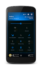 Neon Blue - CM12.1 Theme v1.4.3
